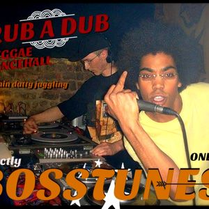 "Mix up! Strictly Bosstunes 7"" (Rub A Dub Faststyle Reggae Early Dancehall)"