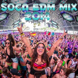SOCA / EDM MIX BY DJ SKY TRINI  ON AUGUST 7TH 2014 (REMASTERED)