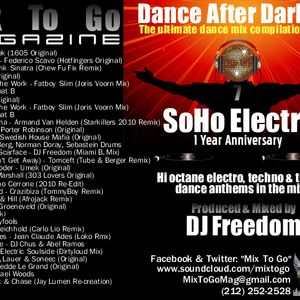 DJ Freedom - Dance After Dark 20 - Introducing: SoHo Electro! ((Electro + Tech House - Sept 2010))