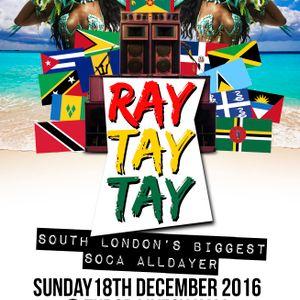 Eternity Entertainments present 'Ray Tay Tay' soca all dayer @ Tudor Livesy Hall, Catford SE6. S