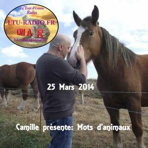 Mots d'animaux 26 Mars 2014