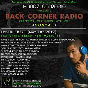 BACK CORNER RADIO: Episode #271 (May 18th 2017)