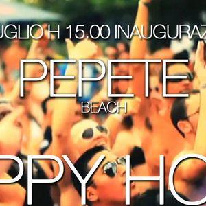 ☀ PEPETE BEACH ☀ INAUGURAZIONE 10 LUGLIO ☀ HAPPY HOUR The ORIGINAL ☀