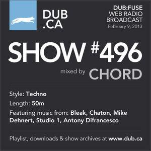DUB:fuse Show #496 (February 9, 2013)