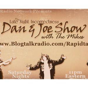 The Late Night Incorrectness - Dan & Joe show- Man card pt 3