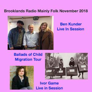 Brooklands Radio Mainly Folk November 2018