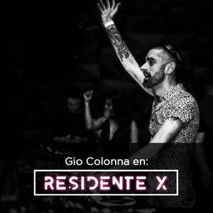 DJ Set Gio Colonna Residente X