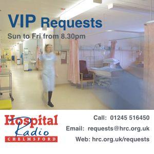 VIP Requests - Thur 12th Feb 2015