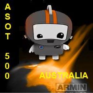 Armin Van Buuren, ASOT 500 Sydney - Australia (16.04.11)