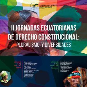 13-09-2016 / II Jornadas Ecuatorianas de Derecho Constitucional