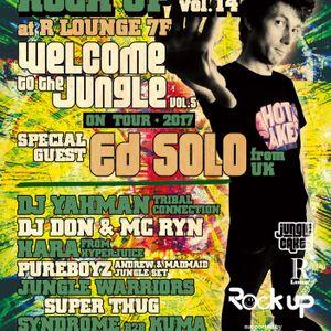 DJ TAKUMI #ROCKUP14 WARM-UP RAVE MIX