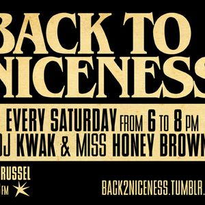 Back To Niceness 21/05/11