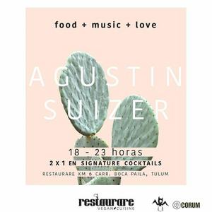 Agustin Suizer - June 2017 Restaurare Tulum Mexico