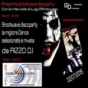 VERONICA FM SHOCKWAVE DISCOPARTY PODCAST# 02-07-2015