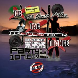 Tic Tac Trance #143 with Martin Mueller