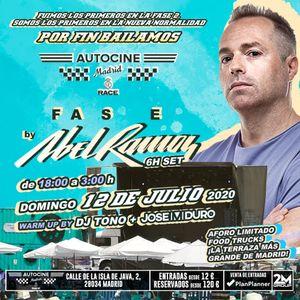Abel Ramos @ FASE (Autocine RACE Madrid, 12-07-20)
