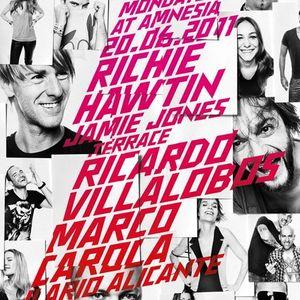 Iliario Alicante & Jamie Jones @ Cocoon Amnesia Ibiza (20.06.11)