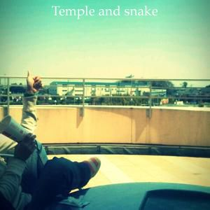 Temple and snake