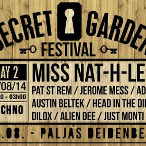 Alien Dee live recorded at Secret Garden 2014.08.15