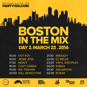 DJ Melee - Boston In The Mix