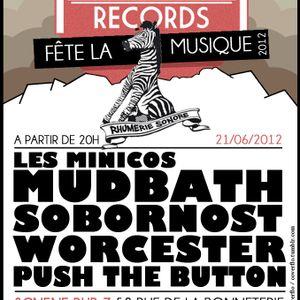 Push the button au Pub Z - Radio Campus Avignon - 21/06/12