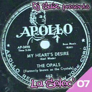 DJ SAIZ ••• La Sélec' 07 ••• The Apollo Records Story