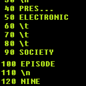 BURREISHON Presents... Electronic Society Podcast - Episode 9