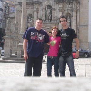 Three Students from A Coruna
