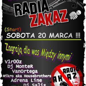 Adrena Line @ I Urodziny Radia ZakaZ (Radio ZakaZ) (21.03.2010)