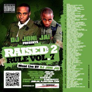 Dj Joni Jai - Raised 2 Rule Vol.7