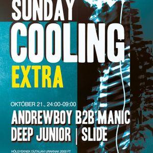 Andrewboy b2b Manic N – Live @ Patron Club,Budapest Sunday Cooling Extra (2012-10-21)
