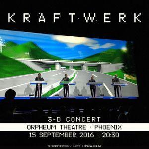 Kraftwerk - Orpheum Theatre, Phoenix, 2016-09-15