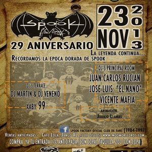 29 Aniversario @ Spook Factory (23.11.2013 5am)