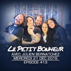 LPB #413 - Julien Bernatchez - Mer - Faire des forts et être productif!