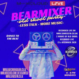 The BearMixer Live on www.sunrisefm.co.uk Monday 21st December 2020