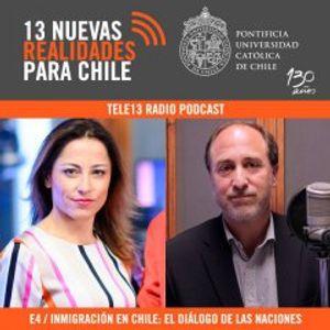 Roberto González en Tele13Radio: Inmigración en Chile
