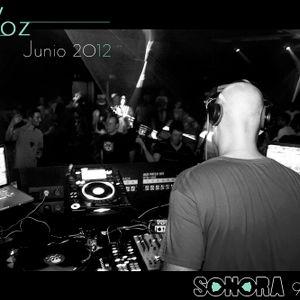 VOZ @ SONORA 909, junio 2012.