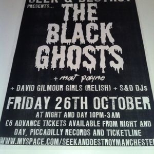 Live From Seek and Destroy (with The Black Ghosts) Manchester 26.10.07