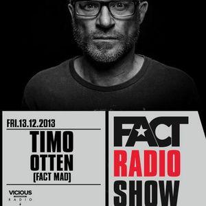 2013.12.13 FACT Radio Show feat. Timo Otten