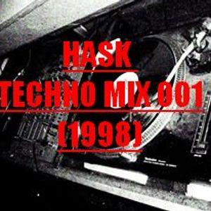 HASK - TECHNO MIX 001 (1998)