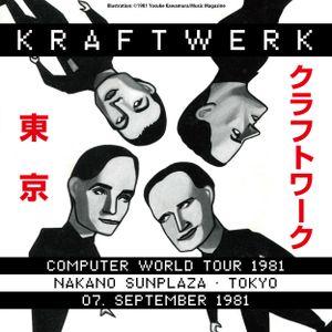 Kraftwerk - Nakano Sunplaza, Tokyo, 1981-09-07