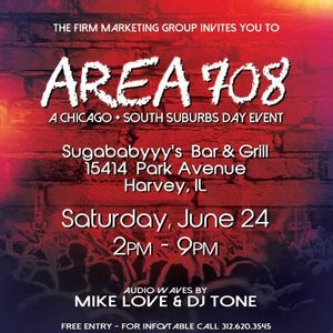 Mike Love @ Area 708 - The Firm x Sugababyyy's 6-24-17