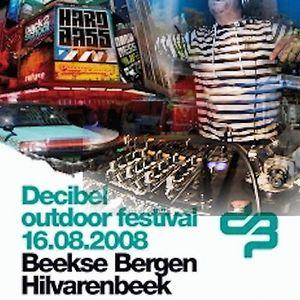 dj W - live at Decibel Outoor 2008 - Rookie stage