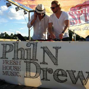 Phil n Drew - Sun Chilled Night Mix