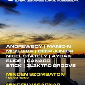 Andrewboy, Canard - Coronita live (2012 07 28)