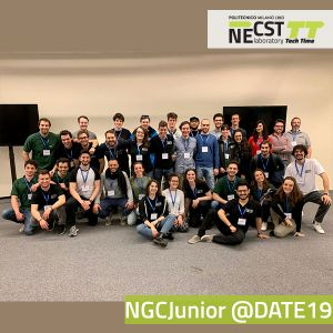 NECST Tech Time II, 19  – NECST Group Conference Junior @ DATE 2019 (2) – 29/03/2019