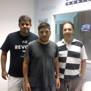100% INDEPENDIENTE Con Martin Roldan,Ariel Vilacha Y Santiago Pezzano 14-7-2015