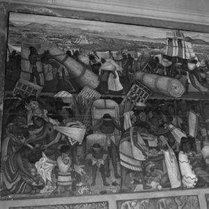 Paseos culturales: los murales de Palacio Nacional