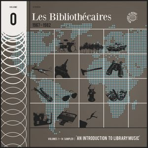[Musicophilia] - 'Les Bibliothecaires' - An Introduction to Library Music - Box Sampler (1967-1982)