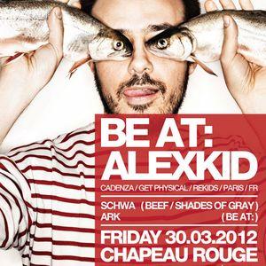 Dj Schwa/Shades of Gray live at BE AT: